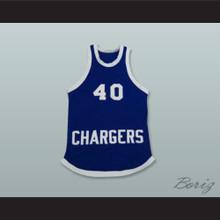 Chargers 40 DCHS High School Basketball Jersey