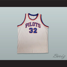 Jason Kidd 32 St. Joseph Notre Dame High School Pilots White Basketball Jersey