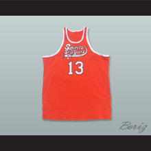 Moses Malone 13 Spirits of St. Louis Basketball Jersey