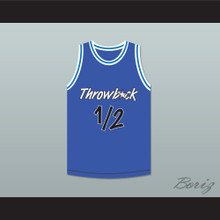 Anfernee Penny Hardaway Lil Penny 1/2 Throwback Blue Basketball Jersey