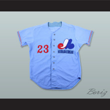 Rick Williams 23 Memphis Chicks Light Blue Baseball Jersey