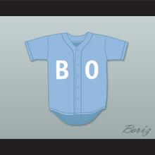 Bo Jackson 16 BO Light Blue Baseball Jersey Sesame Street