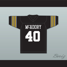 Bo Jackson 40 McAdory High School Yellow Jackets Black Football Jersey