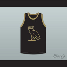 Drake 9 OVO Black Basketball Jersey
