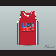 Michael Jordan 23 Like Mike Red Basketball Jersey