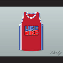 Michael Jordan 23 Like Mike Red Basketball Jersey New