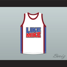 Michael Jordan 23 Like Mike White Basketball Jersey