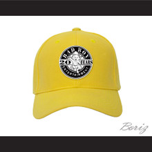 Bad Boy Entertainment 20 Years Yellow Baseball Hat