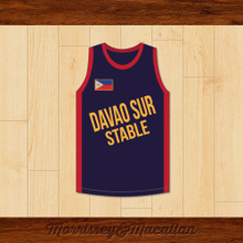 Davao Sur Stable Boxer Jersey by Morrissey&Macallan