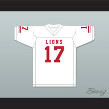 Isiah Wright 17 EMCC Lions White Football Jersey