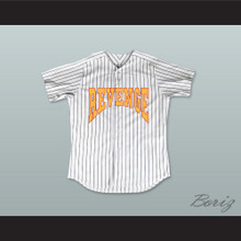 Drake Summer Sixteen Revenge Pinstriped Baseball Jersey