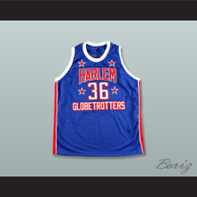 Meadowlark Lemon 36 Harlem Globetrotters Basketball Jersey