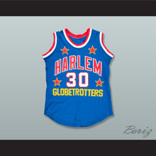 Ella Williams 30 Harlem Globetrotters Basketball Jersey
