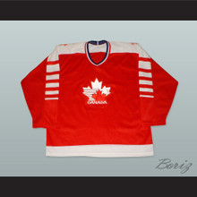1982 Canada Hockey Jersey with Embroidered Patches