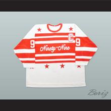 Wayne Gretzky 99 Ninety-Nine Hockey Jersey