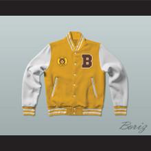 Bel-Air Academy Football Varsity Letterman Jacket-Style Sweatshirt The Fresh Prince of Bel-Air