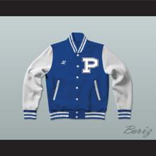 Al Bundy Polk High School Blue Varsity Letterman Jacket-Style Sweatshirt Married With Children