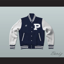 Al Bundy Polk High School Dark Blue Varsity Letterman Jacket-Style Sweatshirt Married With Children