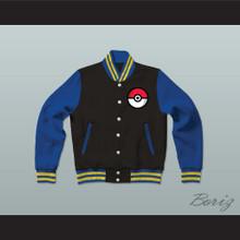Pokemon Varsity Letterman Jacket-Style Sweatshirt