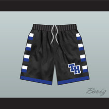 One Tree Hill Ravens Black Basketball Shorts TH