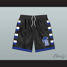 One Tree Hill Ravens Black Basketball Shorts Raven