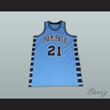 Dominique Wilkins 21 Washington High School Pam-Pack Basketball Jersey Any Player