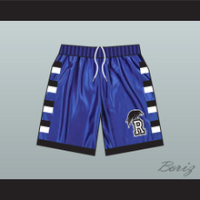 One Tree Hill Ravens Blue Basketball Shorts Raven