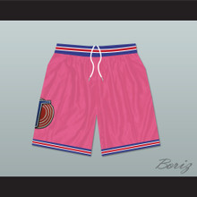 Michael Jordan Space Jam Tune Squad Basketball Shorts Pink