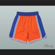 Orange Blue and White Basketball Shorts