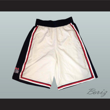 USA Dream Team Basketball Shorts White