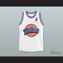 Space Jam Daffy Duck 2 Tune Squad Basketball Jersey with Daffy Duck Patch
