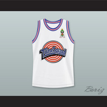 Space Jam Marvin the Martian 09 Tune Squad Basketball Jersey with Marvin the Martian Patch