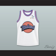 Space Jam Roadrunner 00 Tune Squad Basketball Jersey with Roadrunner Patch