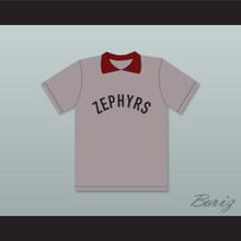 Coach Mr. Burns 28 Springfield Nuclear Power Plant Softball Team Zephyrs Gray Baseball Jersey