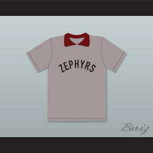 Coach Mr. Burns Springfield Nuclear Power Plant Softball Team Zephyrs Gray Baseball Jersey