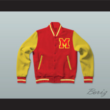 Michael Jackson Thriller Letterman Jacket-Style Sweatshirt