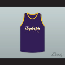 Prince Purple Rain Basketball Jersey