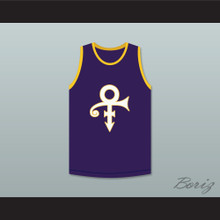 Prince Purple Basketball Jersey
