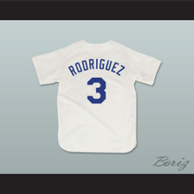 Benny 'The Jet' Rodriguez 3 Pro Career Baseball Jersey The Sandlot