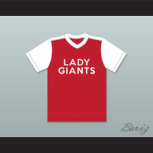 Peggy Hill 6 Lady Giants Softball Team Baseball Jersey