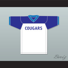 Bobby Hill 82 Arlen Cougars Middle School Home Football Jersey