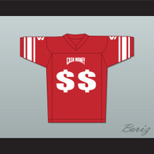 Cash Money Records Football Jersey