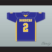 Ezekiel Elliott 2 John Burroughs School Bombers Blue Football Jersey