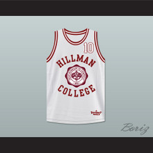 Ronald 'Ron' Johnson 10 Hillman College Theater White Basketball Jersey A Different World