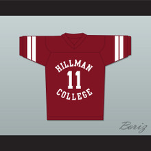 Walter Oakes 11 Hillman College Maroon Football Jersey A Different World