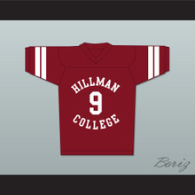Dwayne Wayne 9 Hillman College Maroon Football Jersey A Different World
