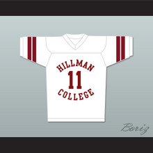 Walter Oakes 11 Hillman College White Football Jersey A Different World