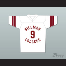 Dwayne Wayne 9 Hillman College White Football Jersey A Different World