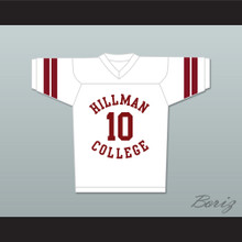 Ronald 'Ron' Johnson 10 Hillman College White Football Jersey A Different World