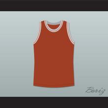 Philip Seymour Hoffman Sandy Lyle Along Came Polly Dark Orange Basketball Plain Jersey
